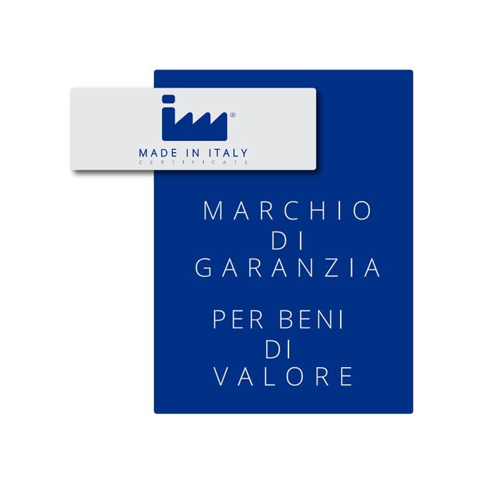 Made in Italy Certificate - Marchio di Garanzia per Beni di valore